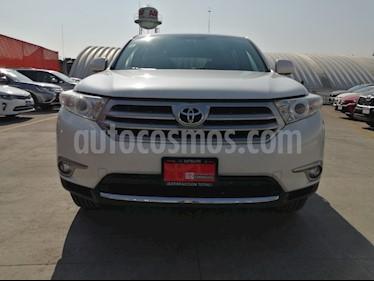 Toyota Highlander Limited usado (2013) color Blanco Perla precio $289,000