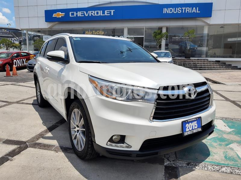 Toyota Highlander Limited Panoramic Roof usado (2015) color Blanco Perla precio $355,000