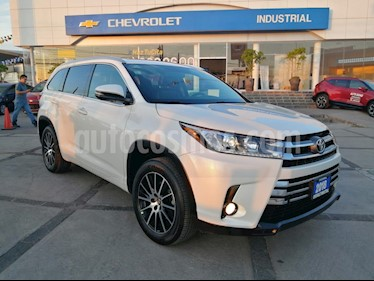 Toyota Highlander Limited Panoramic Roof usado (2018) color Blanco Perla precio $569,000
