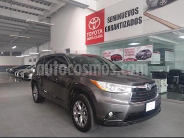 Foto Toyota Highlander 5P XLE TA CLIMATRONIC CD GPS RA-18 usado (2015) color Gris precio $330,000