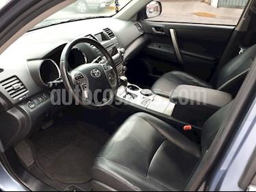 Toyota Highlander Sport Premium usado (2012) color Azul Metalizado precio $215,000