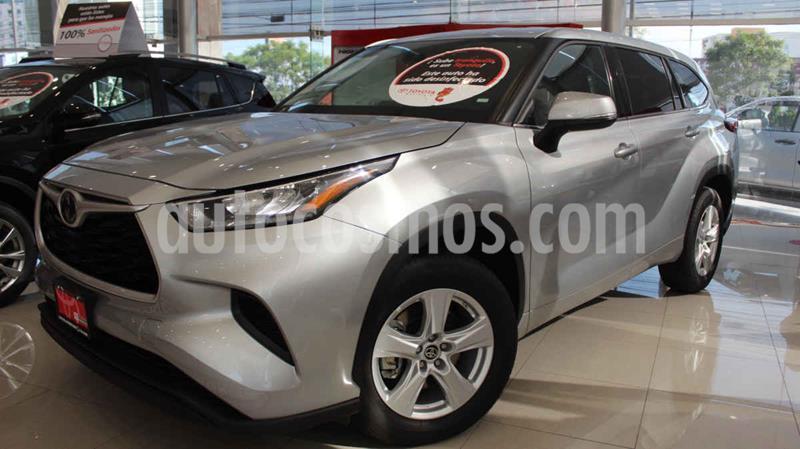 Toyota Highlander LE usado (2020) color Plata precio $590,000