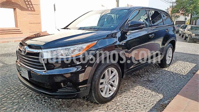Toyota Highlander LE usado (2015) color Negro precio $295,000