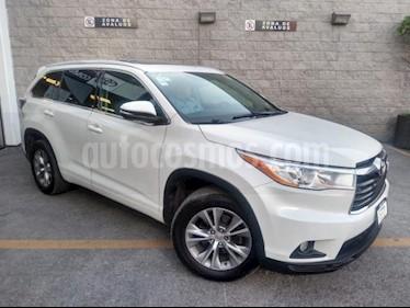 Toyota Highlander 5P XLE TA CLIMATRONIC CD GPS RA-18 usado (2014) color Blanco precio $295,000