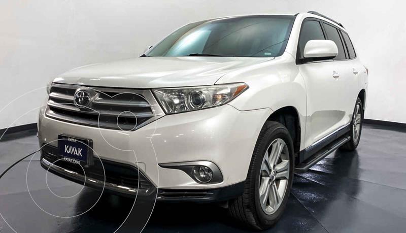 Toyota Highlander Base Premium usado (2013) color Blanco precio $252,999