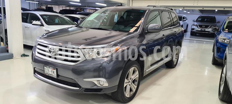 Toyota Highlander Base Premium usado (2012) color Gris Oscuro precio $199,100
