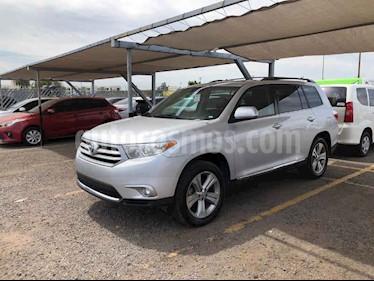 Toyota Highlander 5p Base premium sport aut a/a q/c piel usado (2012) color Plata precio $238,000