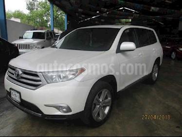 Toyota Highlander Base Premium usado (2013) color Blanco precio $315,000
