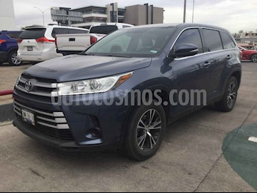 Toyota Highlander 5p LE V6/3.5 Aut usado (2019) color Azul precio $510,000