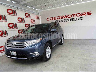 Toyota Highlander Base usado (2013) color Azul precio $199,000