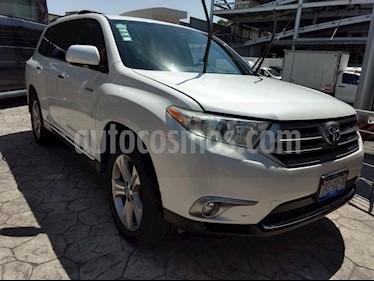 Foto venta Auto usado Toyota Highlander Premium (2013) color Blanco precio $275,000