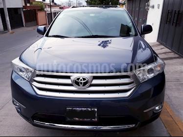 Toyota Highlander Sport Premium usado (2012) color Azul precio $229,000