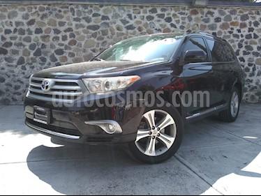 Foto venta Auto usado Toyota Highlander Sport Premium (2013) color Negro precio $225,000