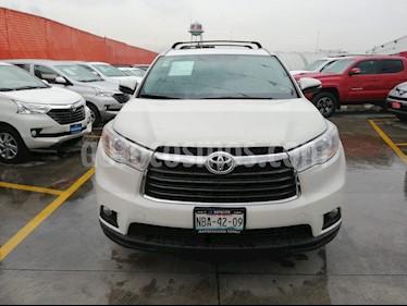 Foto venta Auto usado Toyota Highlander XLE (2016) color Blanco precio $449,000