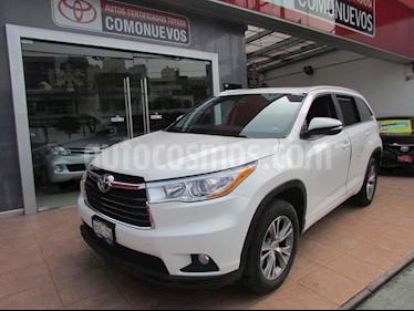 Foto venta Auto Seminuevo Toyota Highlander XLE (2014) color Blanco precio $350,000