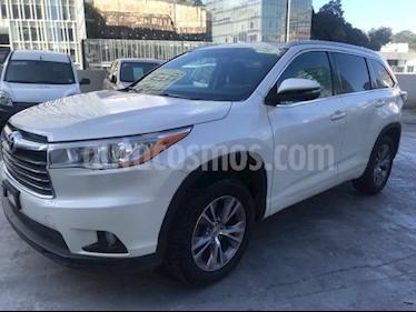 Foto venta Auto Seminuevo Toyota Highlander XLE (2014) color Blanco precio $379,000