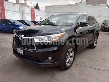 Foto venta Auto usado Toyota Highlander XLE (2015) color Negro precio $365,000