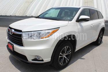 Foto venta Auto usado Toyota Highlander XLE (2016) color Blanco precio $459,000