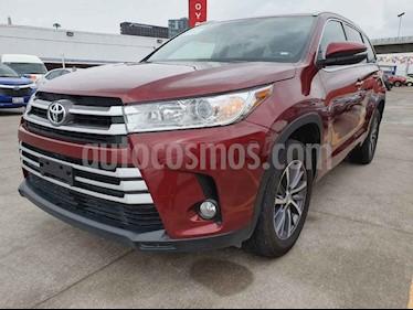 Foto venta Auto usado Toyota Highlander XLE (2018) color Rojo precio $509,000
