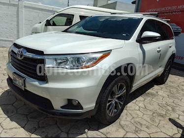 Foto venta Auto usado Toyota Highlander XLE (2015) color Blanco precio $375,000