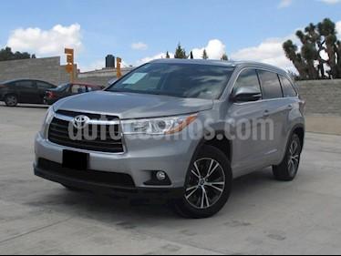 Foto venta Auto usado Toyota Highlander XLE (2016) color Plata precio $425,000