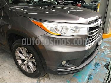 Foto Toyota Highlander XLE usado (2015) color Gris Metalico precio $349,000