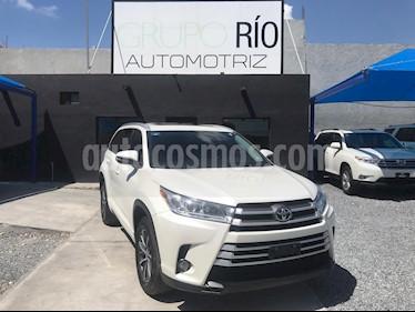 Toyota Highlander XLE usado (2017) color Blanco precio $475,000