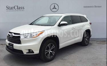Foto venta Auto usado Toyota Highlander XLE (2016) color Blanco precio $369,900