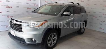 Foto venta Auto usado Toyota Highlander XLE (2015) color Plata precio $335,000