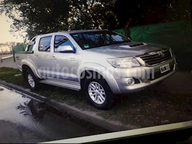 Foto venta Auto usado Toyota Hilux - (2012) color Gris precio $850.000