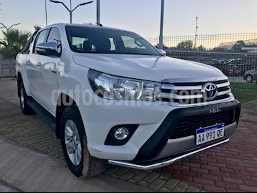 Foto venta Auto usado Toyota Hilux 2.4 4x4 DX TDi SC (2017) color Blanco precio $1.182.000