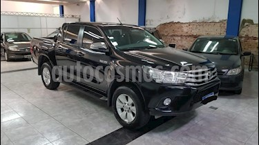Foto venta Auto usado Toyota Hilux 2.4 4x4 DX TDi SC (2016) color Negro precio $950.000