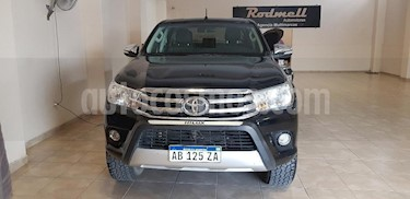 Foto venta Auto usado Toyota Hilux 2.4 4x4 DX TDi SC (2017) color Negro precio $1.050.000