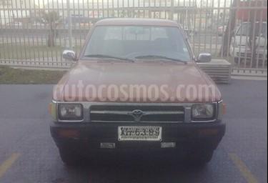 Foto venta Auto Usado Toyota Hilux 2.5 4X2 Cabina Doble DLX (1997) color Marron precio $2.400.000