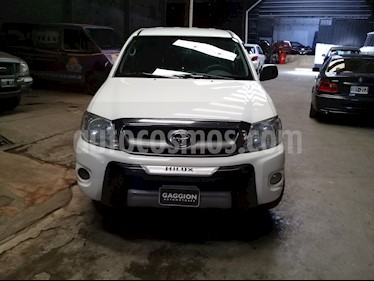 Foto venta Auto usado Toyota Hilux 2.5 4x2 DX DC (2011) color Blanco