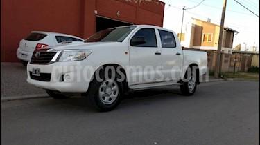 Foto Toyota Hilux 2.5 4x2 DX Pack DC usado (2014) color Blanco precio $890.000