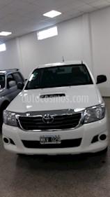 Foto venta Auto usado Toyota Hilux 2.5 4x2 DX Pack DC (2013) color Blanco precio $670.000