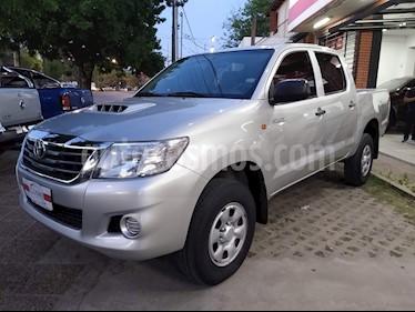 Foto venta Auto usado Toyota Hilux 2.5 4x2 DX Pack DC (2012) color Gris Claro precio $1.111.111