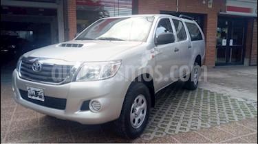 Foto venta Auto usado Toyota Hilux 2.5 4x2 DX Pack DC (2014) color Gris Claro precio $730.000