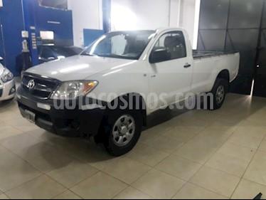 Foto venta Auto Usado Toyota Hilux 2.5 4x2 DX SC (2007) color Blanco