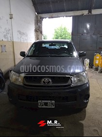 Foto venta Auto usado Toyota Hilux 2.5 4x2 DX TDi Pack DC (2011) color Gris Oscuro precio $550.000