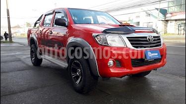 Toyota Hilux 2.5 4X4 Cabina Doble DLX usado (2013) color Rojo precio $12.990.000