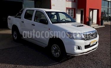 Foto Toyota Hilux 2.5 4x4 DX DC usado (2015) color Blanco precio $1.050.000