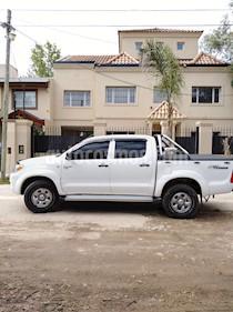 Toyota Hilux 2.5 4x4 DX Pack DC usado (2008) color Blanco precio $555.000