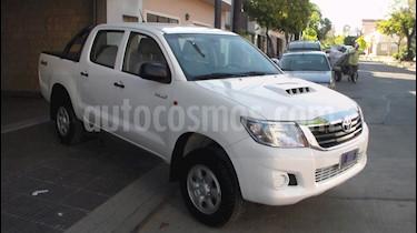 Foto venta Auto usado Toyota Hilux 2.5 4x4 DX TDi Pack DC (2015) color Blanco precio $729.900