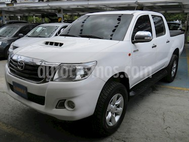 Foto venta Carro usado Toyota Hilux 2.5L 4x4 DC Diesel  (2016) color Blanco precio $98.900.000