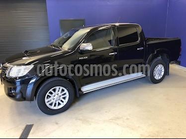 Toyota Hilux 2.5L 4x4 DC Diesel  usado (2014) color Negro precio u$s12.500