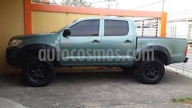Toyota Hilux 2.7L 4x4 D/C usado (2009) color Verde precio u$s13.000