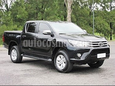 Foto venta Auto Usado Toyota Hilux 2.8 4x2 SRV Pack TDi DC (2016) color Negro precio $940.000