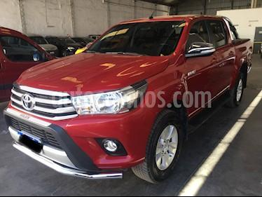Toyota Hilux 2.8 4x2 SRV Pack TDi DC usado (2017) color Rojo precio u$s25.500